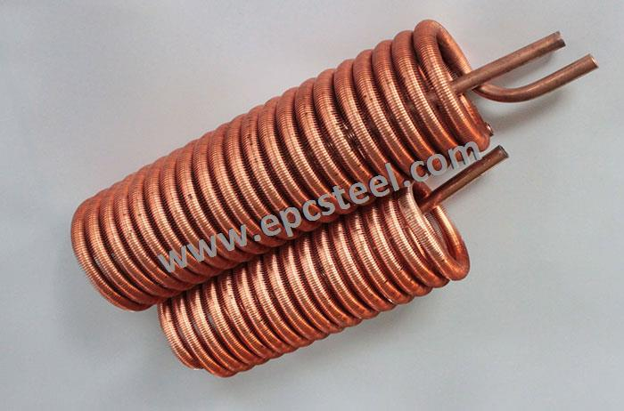 copper spiral tube