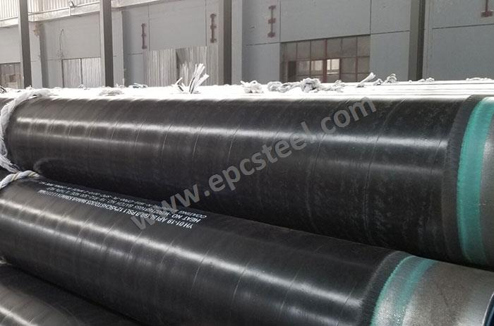 What is the advantage of the 3PE coating pipe