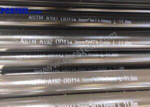 ASTM A192 Steel Tube