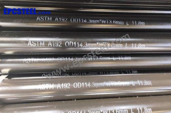 ASTM A192 Steel Tube